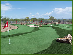 artificial commercial grass